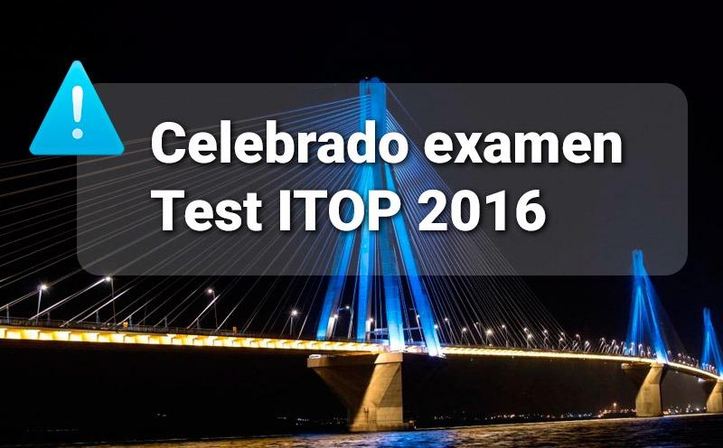 Examen ITOP 2016