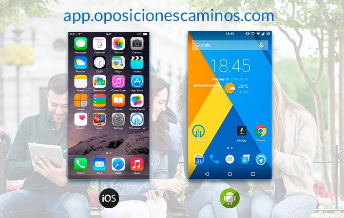 app oposiciones caminos