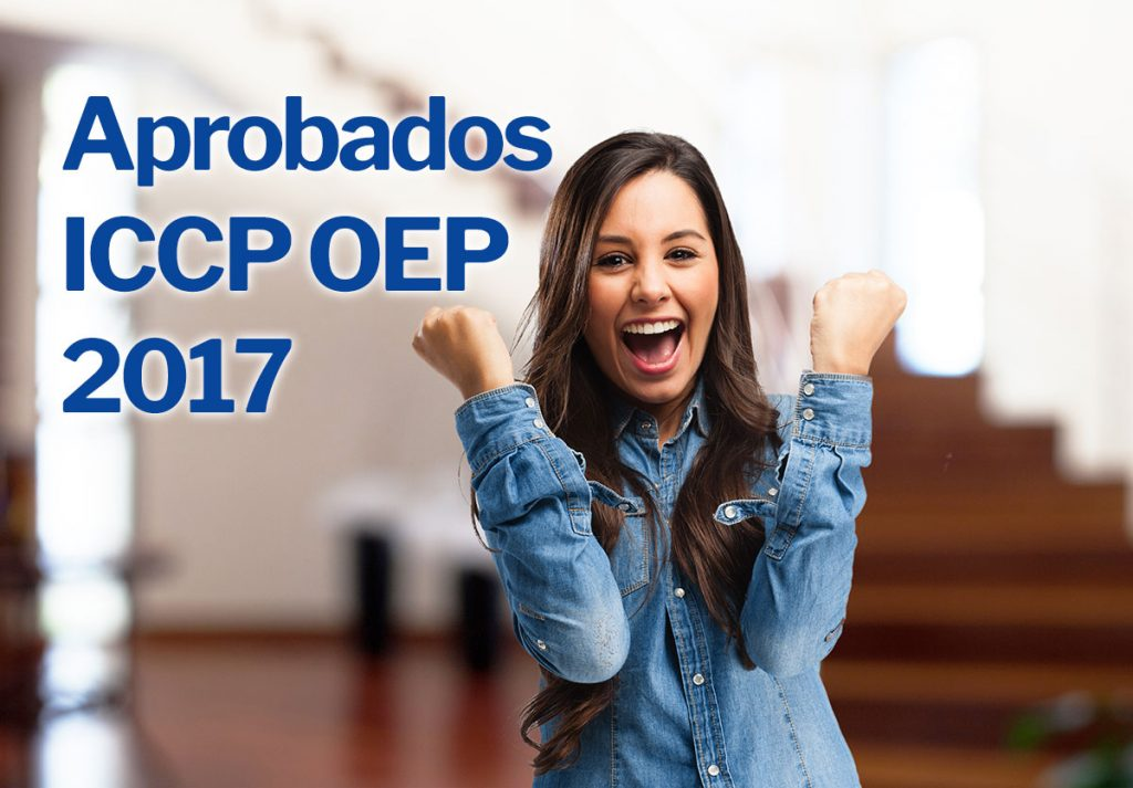 notas aprobados iccp oep 2018