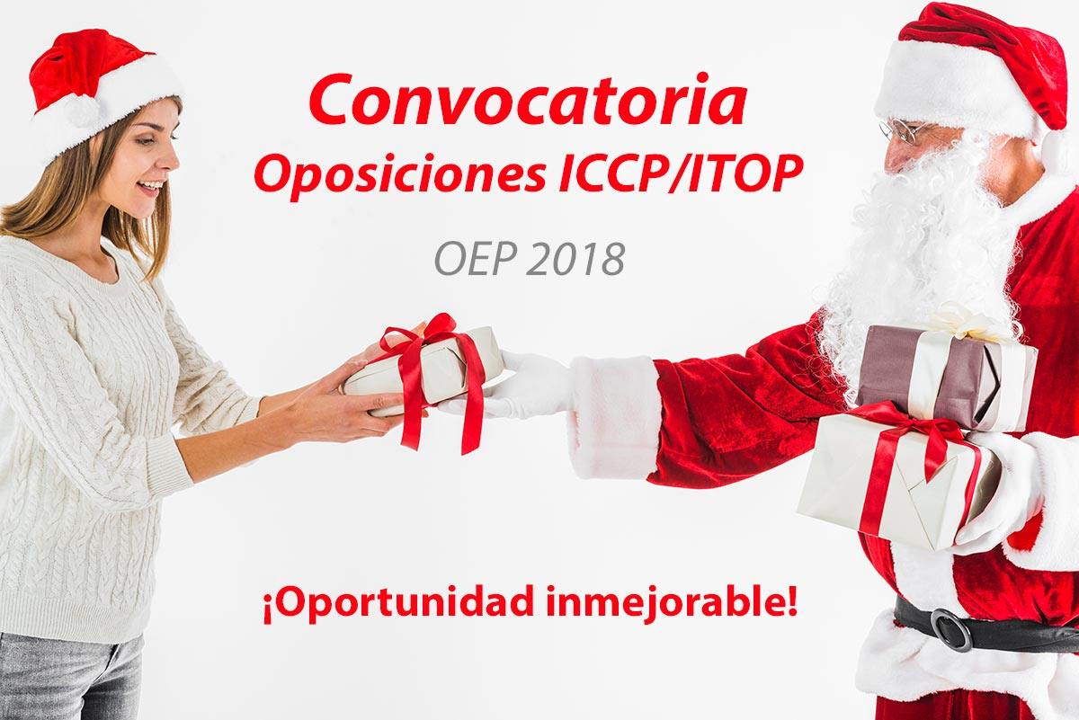Convocatoria Oposiciones iccp itop