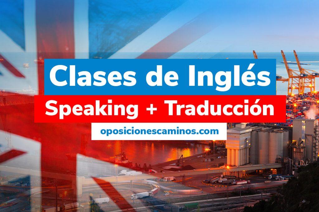 clases inglés oposiciones ingeniero caminos