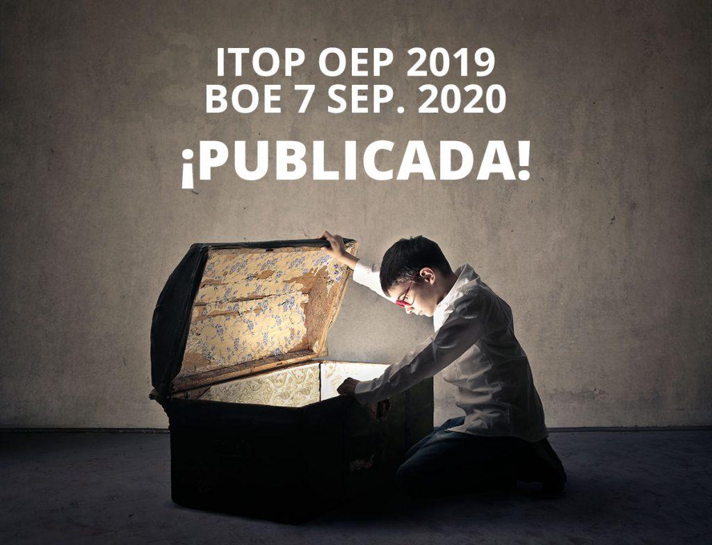 convocatoria itop 2019 publicada boe